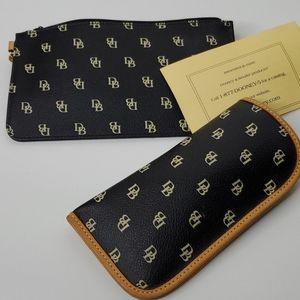 Dooney & Bourke 2 for 1 wristlet & sunglass case